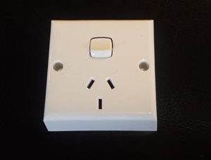 PS2 ... 230V Power Socket White