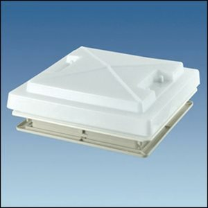 RH7 . . Roof Hatch 400 x 400  with Insect Screen (No blind) WHITE