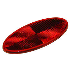 ML5 ... Red Reflector - Oval