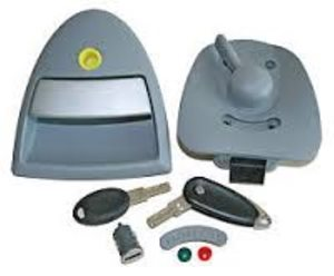 DL6 Left ... Hartal Triangle Door Lock For BAILEY Caravans