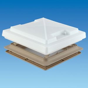RH10B ... Roof Hatch with Insect Screen & Blind 400mm x 400mm Beige