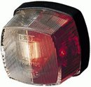 L9 ... Red/Clear Square Marker Side Light Complete