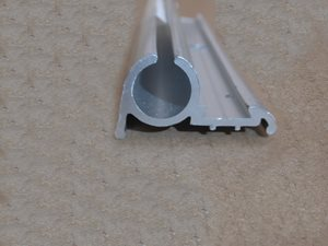 A7 ... Awning Track (SOFT) for UK Caravans