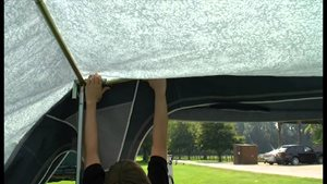 How  to Erect a Full Caravan Awning