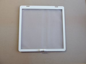 RP4 ... Insect screen for 280mm x 280mm WHITE