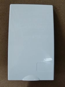 GO9 ... Gas Outlet Box Flap WHITE