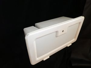 SHBB8 ... Battery Box & Door 600mm x 320mm x 260mm