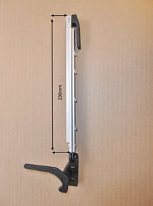 WA11 ... Ratchet Window arm with Lever   230mm