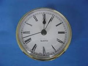 CL3 ... Clock - Round Brass