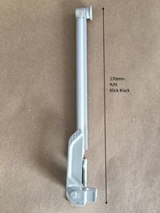 WAK270mm  Klick Klack R/H Window Arm