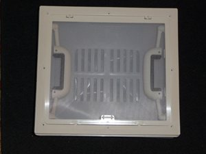 RH5 ... 320 x 360 Roof Vent with Insect Screen (No Blind) WHITE