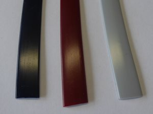 IN14 ... Awning Rail Infill 14mm RED, GREY or BLUE