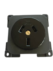 PS6 ... 230V Power Socket Black