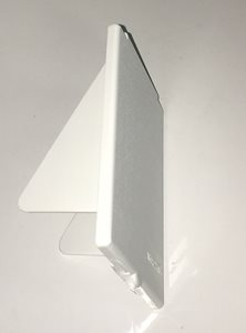MF9A White ... Mains 230V Flush Angled Inlet Flap